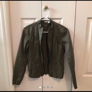Rubbish army green jacket